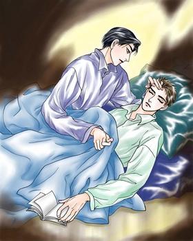 眠りを確かめる義兄♪.jpg